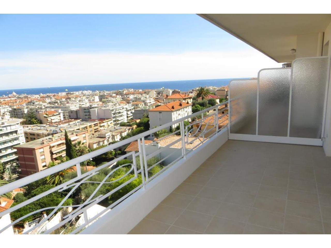 Immobilier nice vue mer appartement nice appartement for Appartement grande terrasse