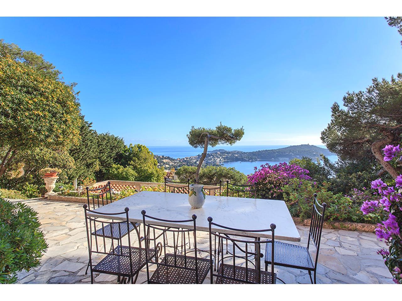 Vente appartement villefranche sur mer immobilier nice vue for Jardin immobilier