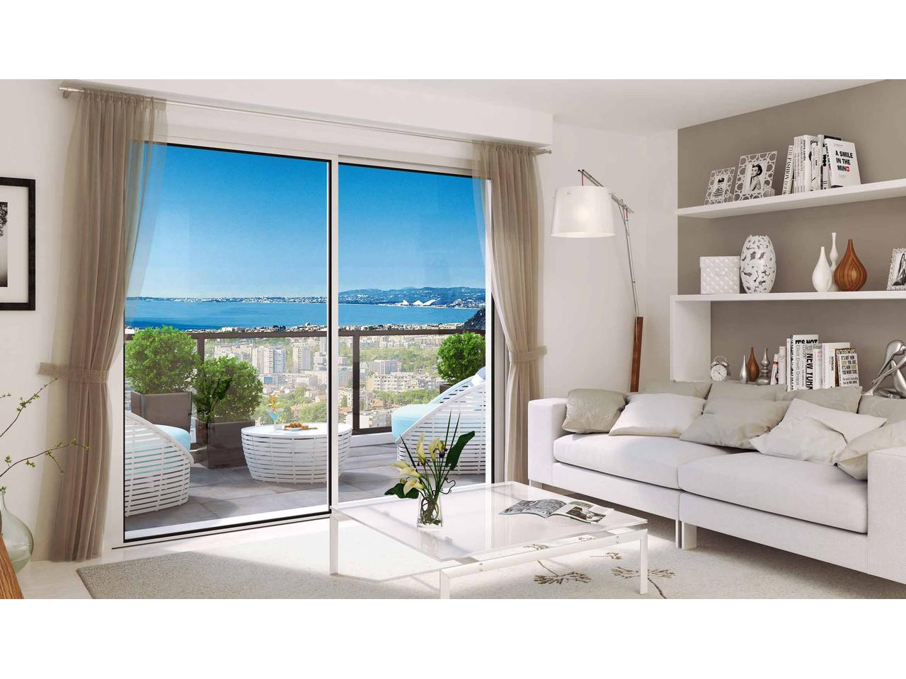 Immobilier nice vue mer appartement nice studio neuf nice - Appartement a vendre port vendres vue mer ...