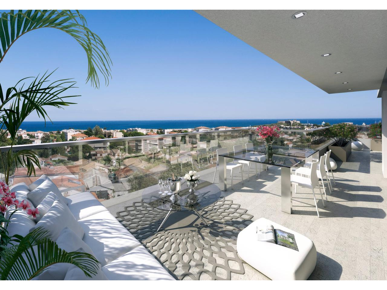 Vente appartement antibes immobilier nice vue mer - Appartement avec vue ofist ...