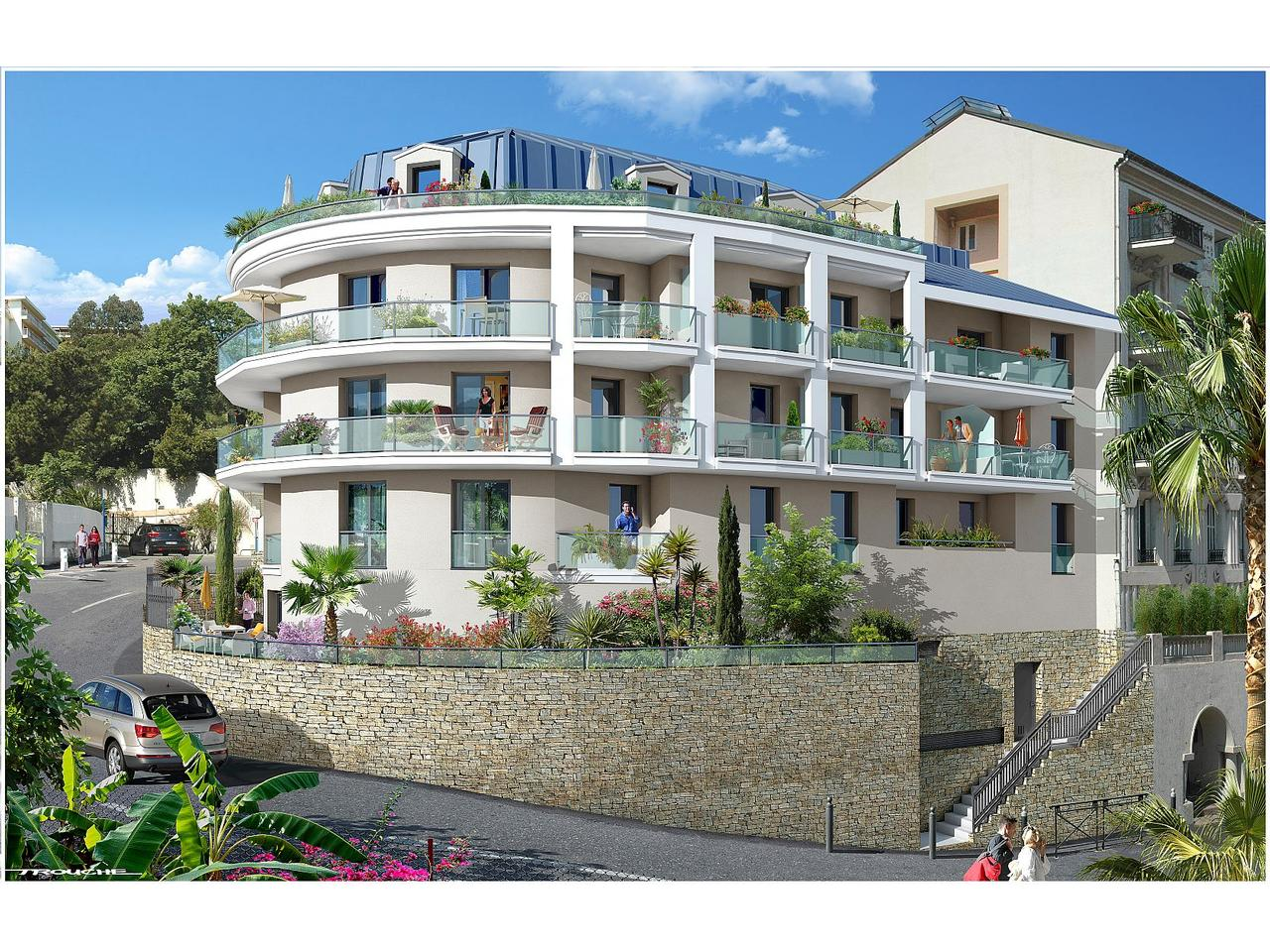 Immobilier nice vue mer appartement nice programme neuf nice nord 3 pieces a la vente - Location 3 pieces nice nord ...