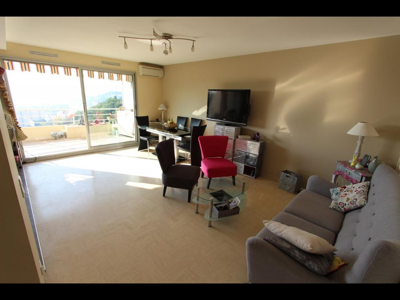 Immobilier nice vue mer appartement nice nice nord 3 pieces avec vue mer a vendre piscine et tennis - Location 3 pieces nice nord ...
