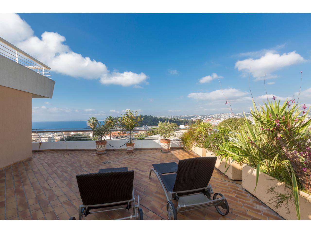 Immobilier nice vue mer appartement nice mont boron - Appartement a vendre port vendres vue mer ...