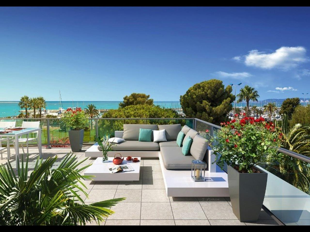 Immobilier nice vue mer appartement st laurent du var neuf - Appartement a vendre port vendres vue mer ...