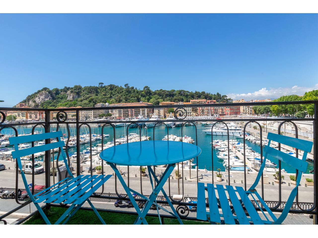 Immobilier nice vue mer appartement nice le port de nice 4 - Appartement a vendre port vendres vue mer ...