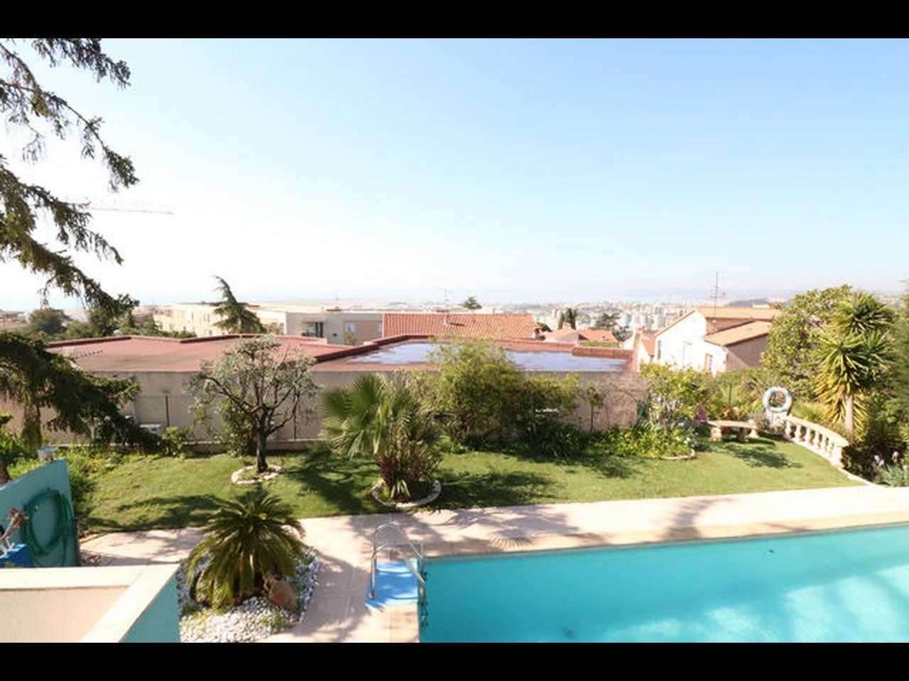 Maison Californienne Nice : Immobilier nice vue mer maison ouest lanterne