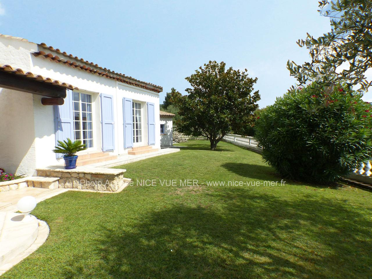 Real Estate Nice Sea View House St Jeannet French Riviera Village