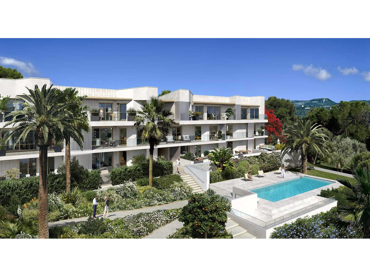 Nice Ouest Programme Neuf Luxe 2 pièces VUE MER a vendre