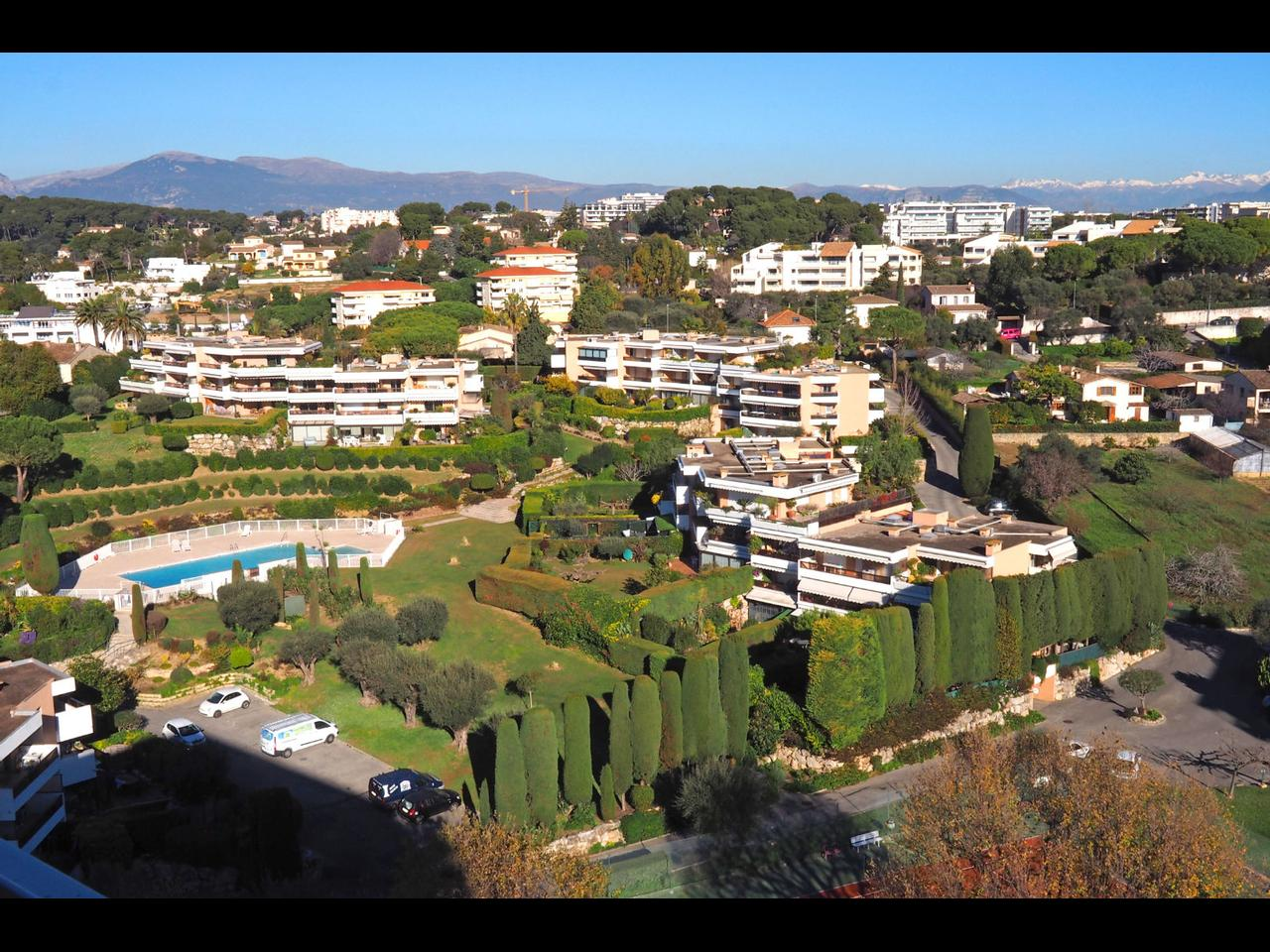 top floor antibes for sale with sea view terrrace
