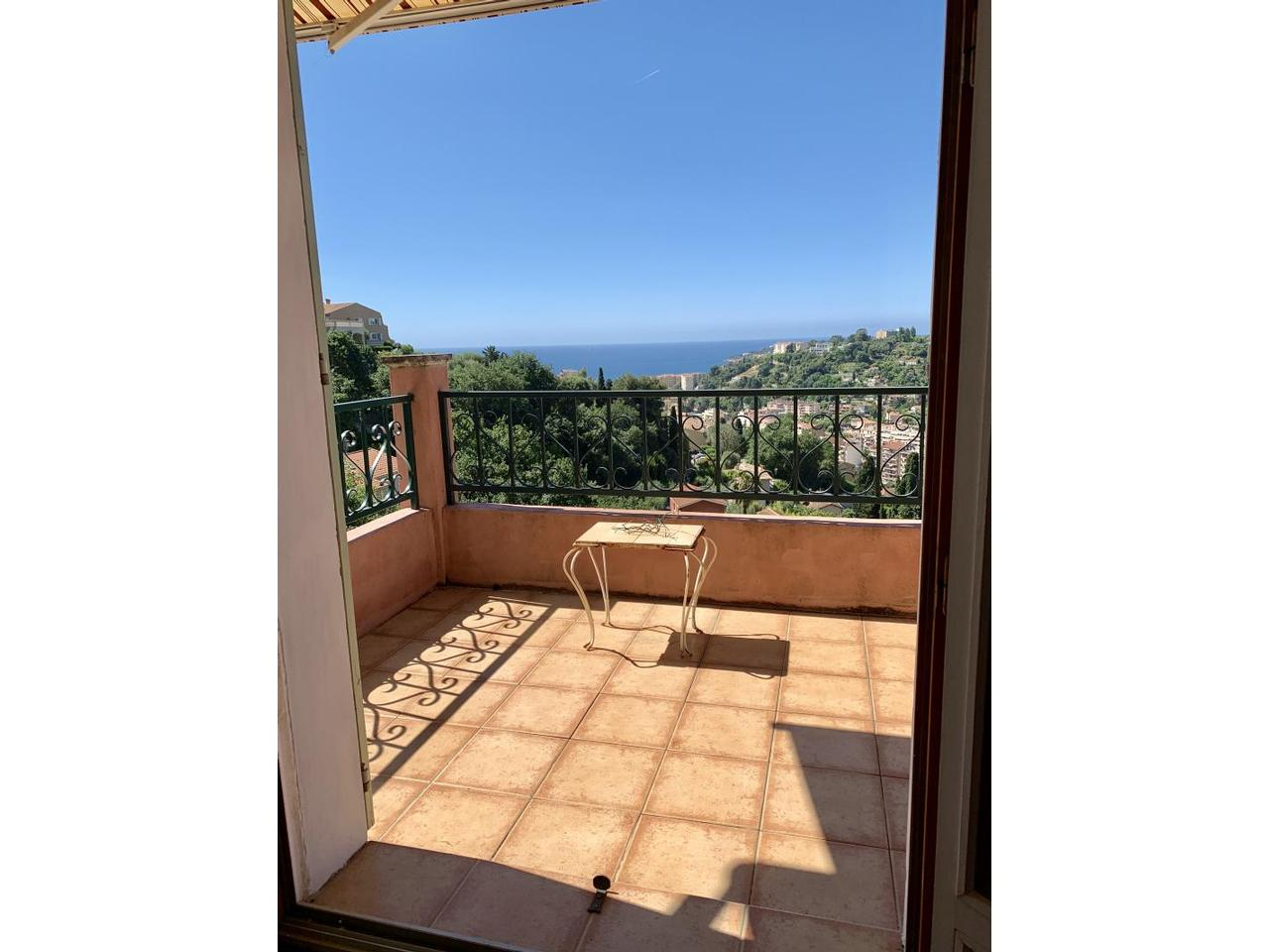 Menton ffrench riviera sea view house for sale