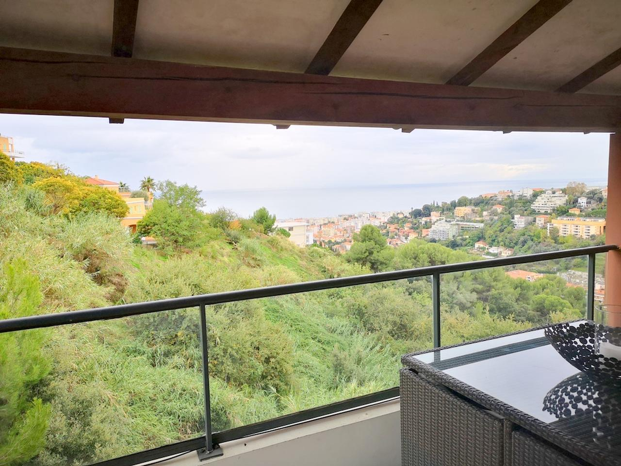 nice hills 3 rooms apartment for sale with pool and sea view