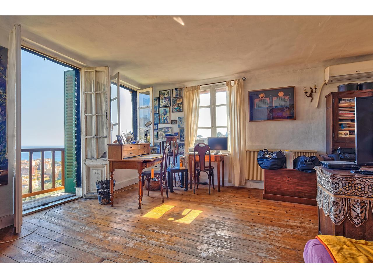 sea view property menton french riviera for sale