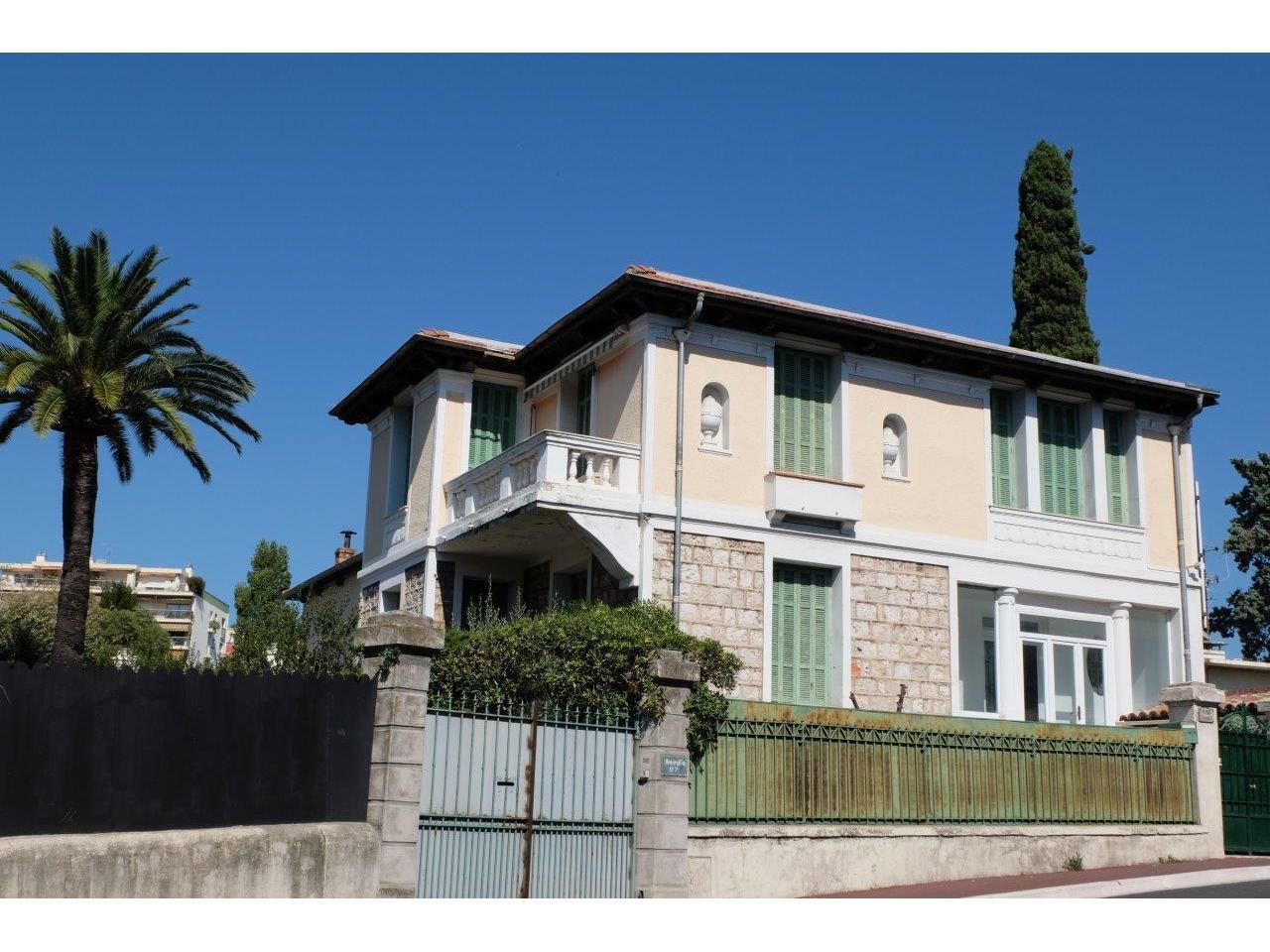 Immobilier nice vue mer Maison Nice Maison 6 pieces a vendre vue mer cimiez -> Roche Bobois A Vendre Nice