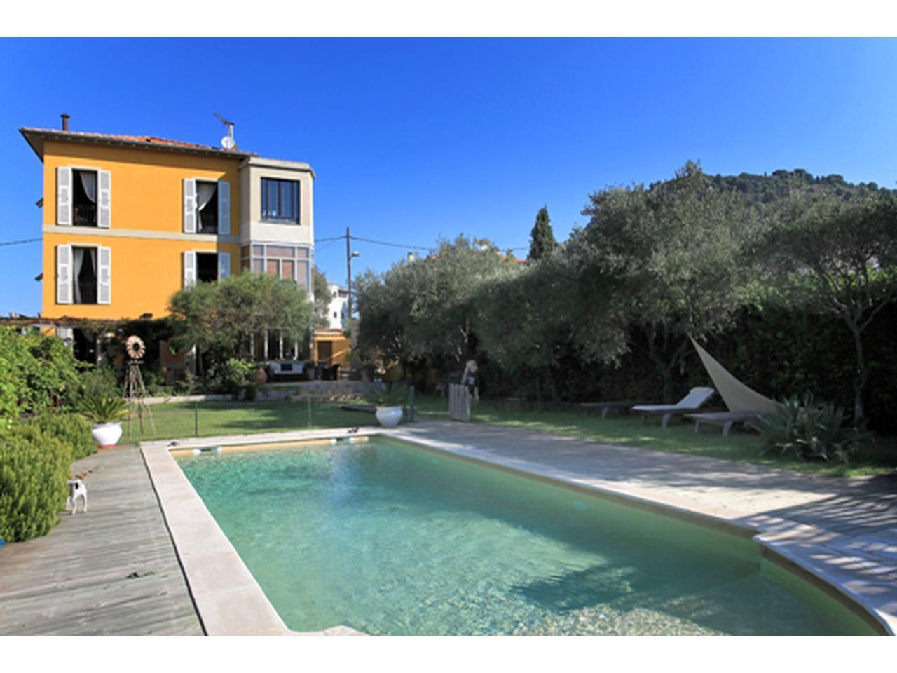 propriété 2 villas a vendre vue mer nice mont boron -> Roche Bobois A Vendre Nice