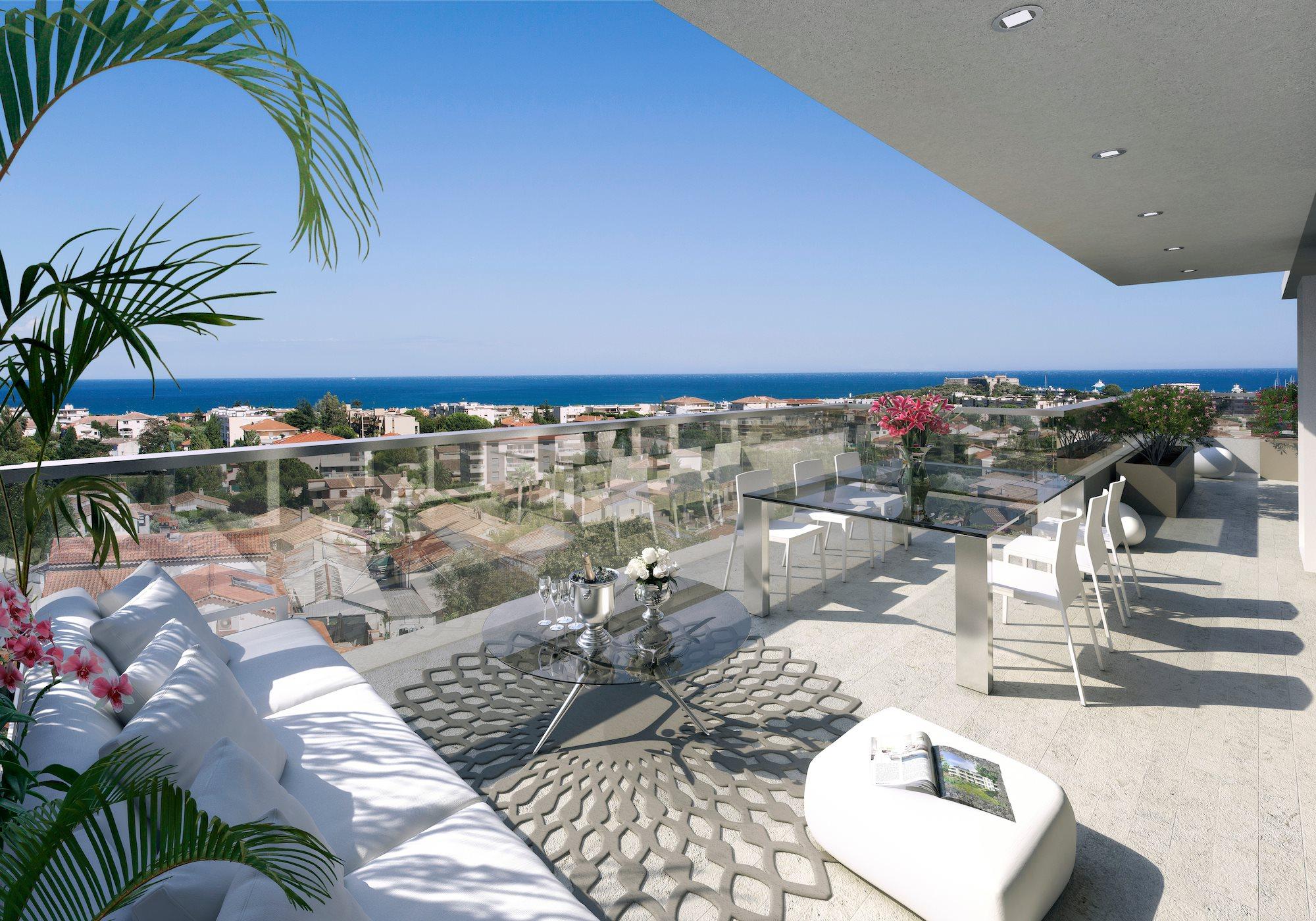 Programmes neufs vefa nice vue mer for Vente maison vefa